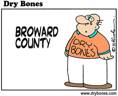 Dry Bones cartoon, Florida, shooting, school shooting,