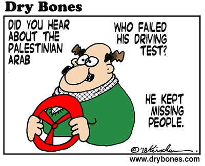 Dry Bones cartoon,Arabs, car ramming, terror, terrorism,Palestinian Arabs,