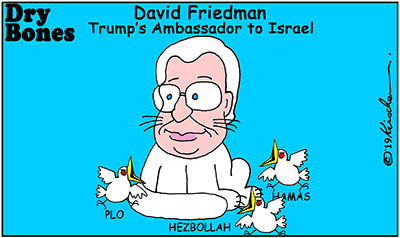 David Friedman, Hamas, PLO, Hezbollah, Trump, Ambassador, Palestinians, Peace agreement,