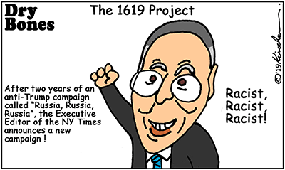 1619 Project, NY Times, Trump, Russia, America, racism,media bias,