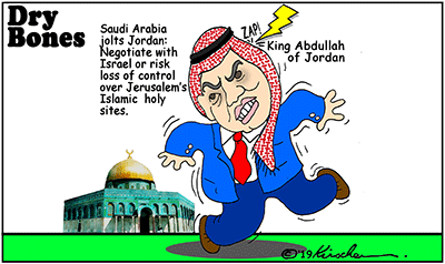 Saudi Arabia, Jordan, Jerusalem, Palestinians, peace, negotiations, Israel,deal of the century, Trump,