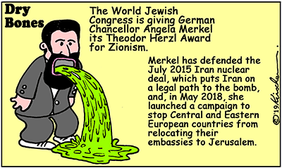 WJC, World Jewish Congress,Zionism,Merkel,Germany,Israel,