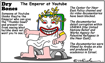 YouTube, UNRWA,Center for Near East Policy, CNEP, United Nations,censorship,