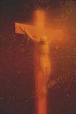 Clinton era art- Piss Christ