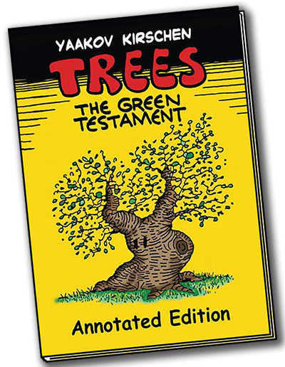 antisemitism,graphic novel. trees, the green testament,Israel, history, generations, continuity, Jewish continuity, Christianity, prophecy,