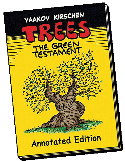 antisemitism,graphic novel. Trees, the green testament,Israel, history, generations, prophecy,holiday gift,