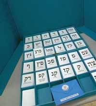Israeli Voting Booth.