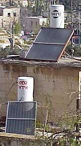 rooftop solar collectors